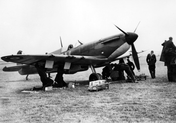 Battle of Britain working on plane