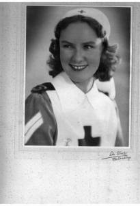 Jennie Upton has commented on this post and sent a picture of her mother who served as a VAD in Kenya.
