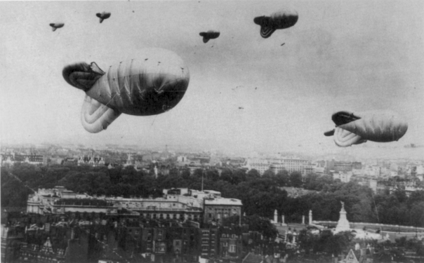 barrage balloons