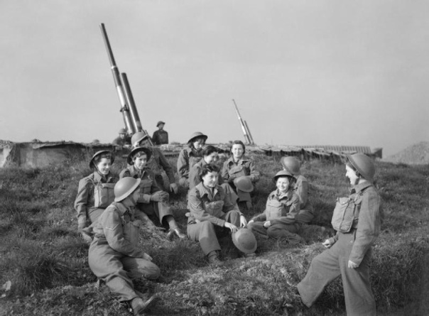 Female gun crew