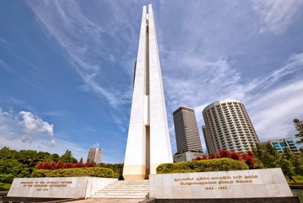 War memorial in memory of the civilian victims of the Japanese occupation of Singapore