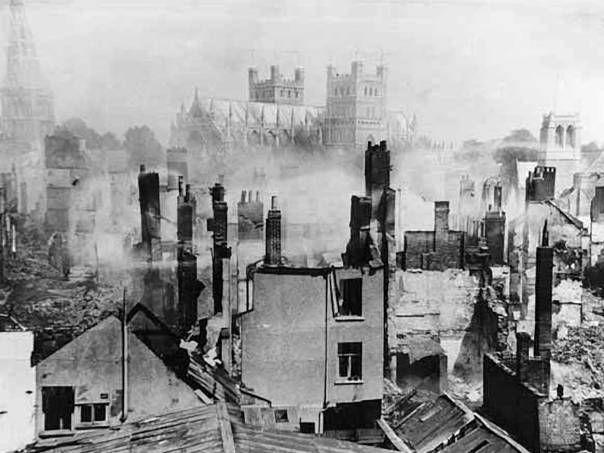 Exeter after the bombing
