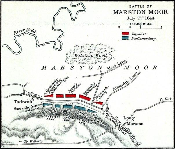 Yorkshires Forgotten Battle Marston Moor Dorinda Balchin Author