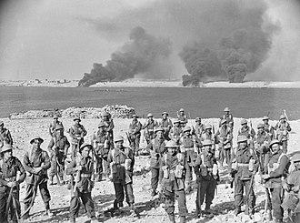 Australian troops at Tobruk