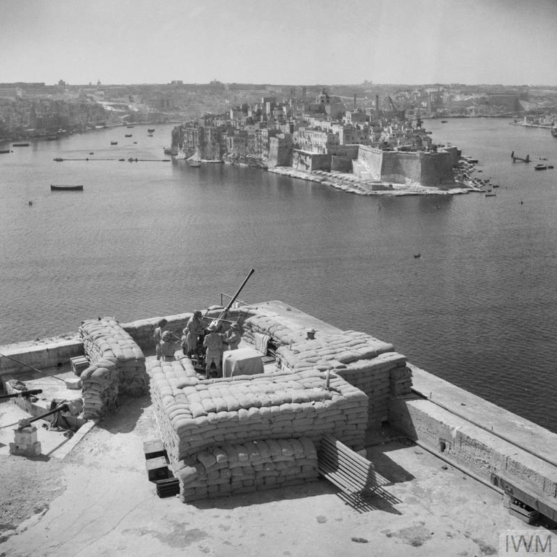 THE BRITISH ARMY ON MALTA 1942 @IWM GM946